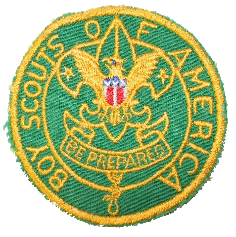 Boy Scouts of America Be Prepared Eagle Boy Scout Uniform Patch