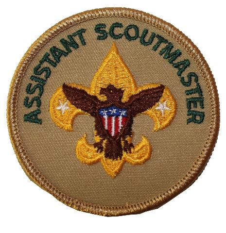 Assistant Scoutmaster Eagle Boy Scout Uniform Patch