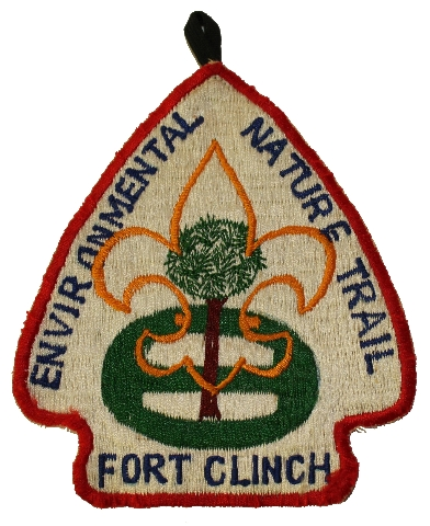 Environmental Nature Trail Fort Clinch Vintage Boy Scout Uniform Patch