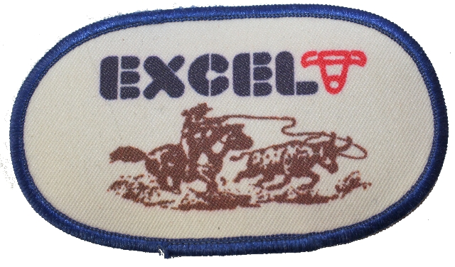 Excelt Excel Wrstern Rodeo Bull Riding Uniform Patch