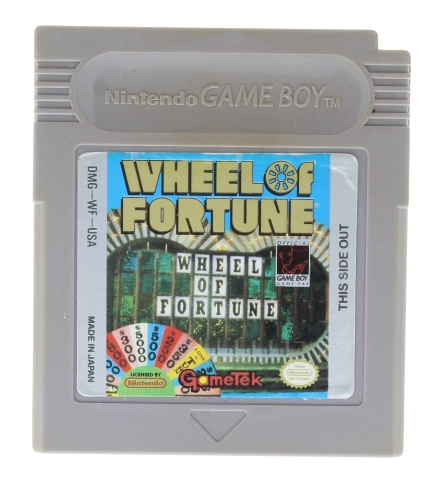 Wheel of Fortune (Nintendo Game Boy, 1990) Cart Only!