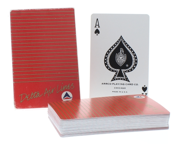 Delta Air Lines Arrco Deck of Playing Cards