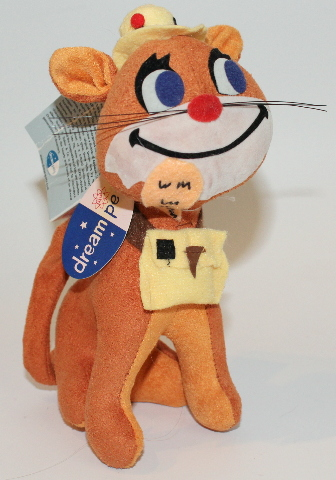 New Dream Pets Reissue by Dakin Fish and Chips Cat with Fish #23