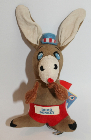New Dream Pets Reissue by Dakin Demo Donkey #25