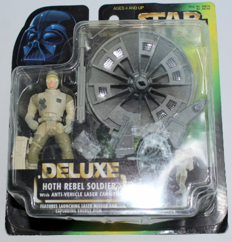 Hasbro Star Wars Hoth Rebel Soldier Anti Vehicle Laser Canon Delux Set in Box