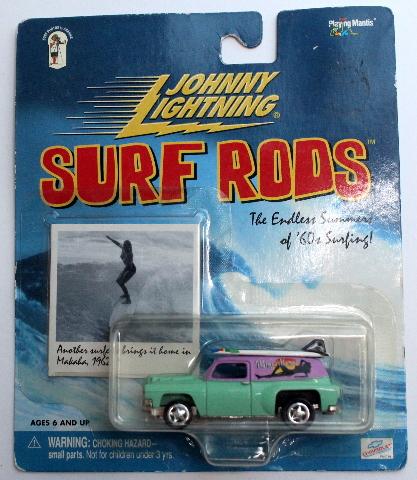 Johnny Lightning Chevy Panel Surf Rods Waimea Mamas Mint Card Series 294-02