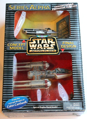 Vintage NIB Star Wars Micro Machines 73420 Series Alpha Y-Wing Starfighter NEW