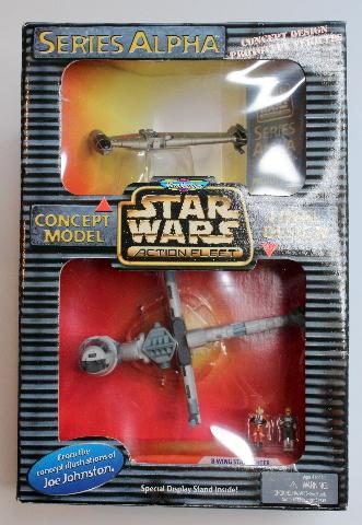Star Wars Micro Machines 73420 New Series Alpha B-Wing Starfighter Action Fleet
