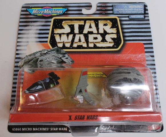 Star Wars Micro Machines Vehicles X Death Star II Skyhopper Landspeeder New