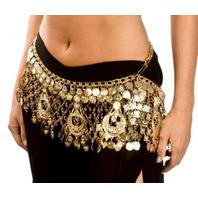 Western Fashion Belly Dancing Peacock Design adjustable Belt