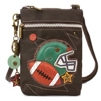 Charming Chala Venture Cell Phone Purse Crossbody Bag Football Super Fan Sports