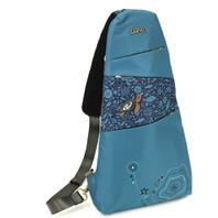 Chala Purse Handbag Turquoise Escape Sling Backpack Turtle Design