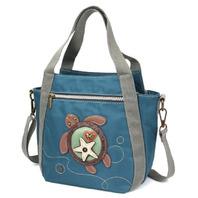 Chala Purse Handbag Companion Organizer X Body Crossbody Twin Turtle Design