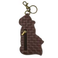 Chala Goat Puppy Dog Whimsical Key Chain Coin Purse Bag Fob Charm
