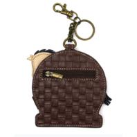 Chala Equestrian Horse Riding Whimsical Key Chain Coin Purse Bag Fob Charm