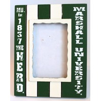Marshall University The Herd Licensed Wooden Photo Picture Frame