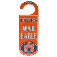 Door Knob Note Hanger Auburn University Distressed Game Day Tiger Fans School Spirit