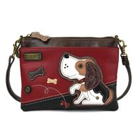 Charming Chala Puppy Dog Crossbody Bag Handbag Purse