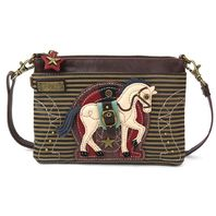 Charming Chala Equestrian Horse Lover Crossbody Bag Handbag Purse