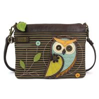 Charming Chala Hoot Hoot Owl Crossbody Bag Handbag Purse