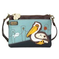Charming Chala Pelican Bird Mini Crossbody Bag Handbag Purse