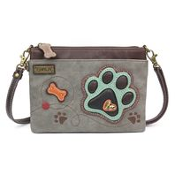 Charming Chala Puppy Dog Paw Print Crossbody Bag Handbag Purse