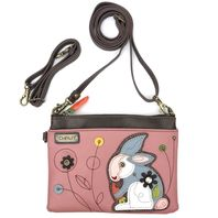 Charming Chala Bashful Bunny Crossbody Bag Handbag Purse