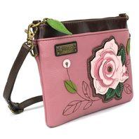 Charming Chala Romantic Rose Crossbody Bag Handbag Purse