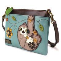 Charming Chala Silly Sloth Mini Crossbody Bag Handbag Purse