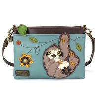 Charming Chala Silly Sloth Mini Crossbody Bag Handbag Purse