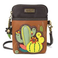 Charming Chala Cactus Cell Phone Purse Mini Crossbody Bag