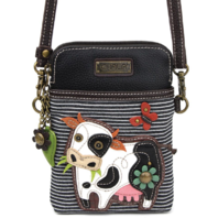 Charming Chala Moo Cow Cell Phone Purse Mini Crossbody Bag