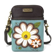 Charming Chala Daisy Flower Cell Phone Purse Mini Crossbody Bag