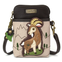 Charming Chala New Billy Goat Cell Phone Purse Mini Crossbody Bag