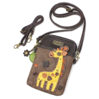 Charming Chala Gentile Giraffe Cell Phone Purse Mini Crossbody Bag