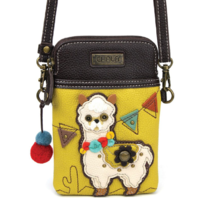 Charming Chala Festive Llama Cell Phone Purse Mini Crossbody Bag