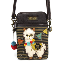 Charming Chala Fun Llama Cell Phone Purse Mini Crossbody Bag