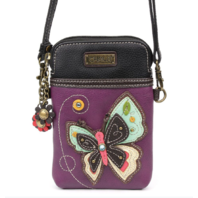 Charming Chala New Butterfly Cell Phone Purse Mini Crossbody Bag