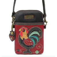 Charming Chala Proud Rooster Cell Phone Purse Mini Crossbody Bag
