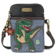 Charming Chala Tyrannosaurus Rex Dinosaur T Cell Phone Purse Mini Crossbody Bag