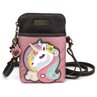 Charming Chala Beautiful Unicorn Cell Phone Purse Mini Crossbody Bag