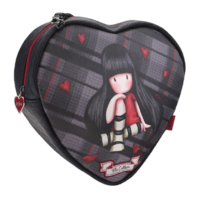Santoro London Handbag Purse Gorjuss Tartan Heart Shoulder Bag The Collector