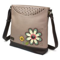 Chala Daisy Flower Sweet Messenger Bag Purse Handbag