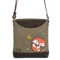 Chala Foxy Fox Sweet Messenger Bag Purse Handbag
