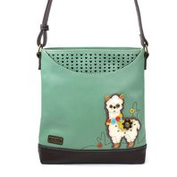 Chala Little Festive Llama Sweet Messenger Bag Purse Handbag