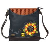 Chala Sun Flower Sunflower Sweet Messenger Bag Purse Handbag