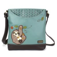 Chala Baby Sloth on a Branch Sweet Messenger Bag Purse Handbag