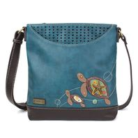 Chala Twin Turtles Mom and Baby Sweet Messenger Bag Purse Handbag