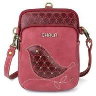 Charming Chala Cell Phone Purse Bag Mini Crossbody Detailed Biddle Bird Design