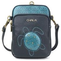 Charming Chala Turquoise Pattern Turtle Cell Phone Purse Bag Mini Crossbody